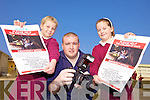 FUNDRAISER: A Ballybunion photographer is holding a fundraiser for Haiti on April 3rd in the Leisure Centre. From l-r were: Annamay Wall, Luke Kindelan and KerriAnne Williams Kissane. .