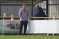 Jimmy Mcfarlane Hornchurch manager is seen prior to kick off during Witham Town vs AFC Hornchurch, Bostik League Division 1 North Football at Spa Road on 14th April 2018