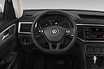 Car pictures of steering wheel view of a 2018 Volkswagen Atlas S 5 Door SUV