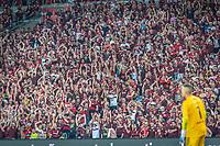 RIO DE JANEIRO, RJ, 23.10.2019 - FLAMENGO-GRÊMIO- Torcida do Flamengo durante partida contra o Grêmio em jogo válido pela Semifinal da Copa Libertadores da América 2019 no estádio do Maracanã no Rio de Janeiro, nesta quarta-feira, 23. (Foto: Anderson Lira/Brazil Photo Press)