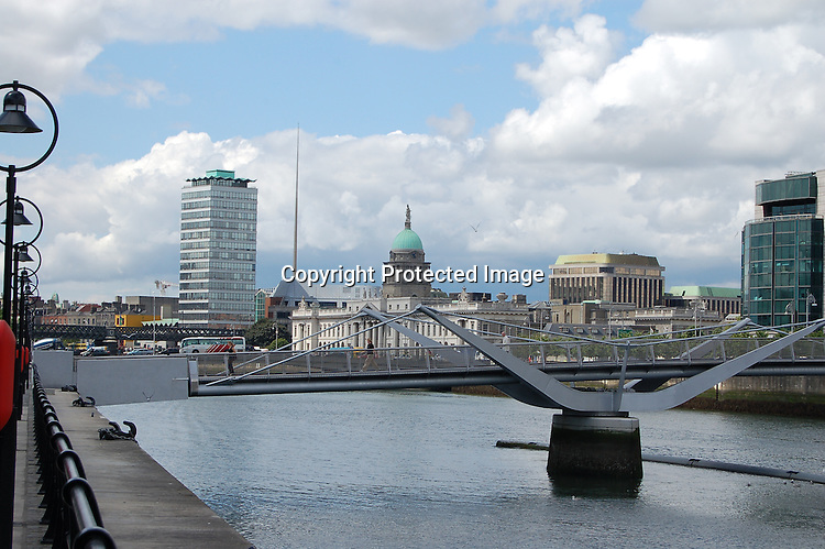 Custom House on the Liffey, Dublin