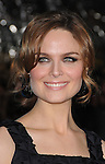 Emily Deschanel arriving at the premiere of Yes Man held at Mann Village Theater in Westwood, Ca. December 17, 2008