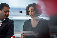 Ramona Pop, Berlins stellv. Buergermeisterin und Wirtschaftsenatorin (im Bild) traf sich am Montag den 4. Maerz 2019 in Berlin mit Londons stellvertretendem Buergermeister fuer Wirtschaft, Rajesh Agrawal. Sie sprachen ueber die wirtschaftliche Zusammenarbeit der beiden Hauptstaedte und die moeglichen Folgen eines Brexit.<br /> 4.3.2019, Berlin<br /> Copyright: Christian-Ditsch.de<br /> [Inhaltsveraendernde Manipulation des Fotos nur nach ausdruecklicher Genehmigung des Fotografen. Vereinbarungen ueber Abtretung von Persoenlichkeitsrechten/Model Release der abgebildeten Person/Personen liegen nicht vor. NO MODEL RELEASE! Nur fuer Redaktionelle Zwecke. Don't publish without copyright Christian-Ditsch.de, Veroeffentlichung nur mit Fotografennennung, sowie gegen Honorar, MwSt. und Beleg. Konto: I N G - D i B a, IBAN DE58500105175400192269, BIC INGDDEFFXXX, Kontakt: post@christian-ditsch.de<br /> Bei der Bearbeitung der Dateiinformationen darf die Urheberkennzeichnung in den EXIF- und  IPTC-Daten nicht entfernt werden, diese sind in digitalen Medien nach §95c UrhG rechtlich geschuetzt. Der Urhebervermerk wird gemaess §13 UrhG verlangt.]