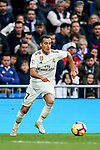 Lucas Vazquez of Real Madrid in action during the La Liga 2018-19 match between Real Madrid and Real Valladolid at Estadio Santiago Bernabeu on November 03 2018 in Madrid, Spain. Photo by Diego Souto / Power Sport Images
