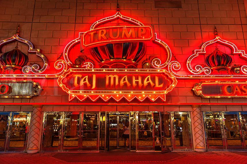 Taj Mahal Casino, Atlantic City, New Jersey, USA
