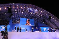 OLYMPICS: SOCHI: Medal Plaza, 09-02-2014, fans, ©foto Martin de Jong