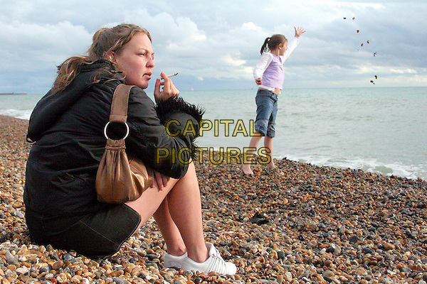 LORRAINE STANLEY & GEORGIA GROOME.in London to Brighton .**Editorial Use Only**.CAP/FB.Supplied by Capital Pictures