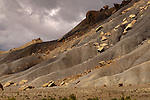 Book Cliffs, Utah, named because of the similarity to a row of books rising out of the desert, is one of the most remote sites in the contiguous states.