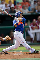 Florida's Preston Tucker in Game 5 of the NCAA Division One Men's College World Series on Monday June 21st, 2010 at Johnny Rosenblatt Stadium in Omaha, Nebraska.  (Photo by Andrew Woolley / Four Seam Images)
