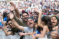 The fans were vocal in their support at the Oval during India vs New Zealand, ICC World Cup Warm-Up Match Cricket at the Kia Oval on 25th May 2019