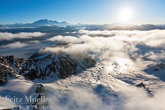 St. Elias Icefields, Kluane National Park, Yukon