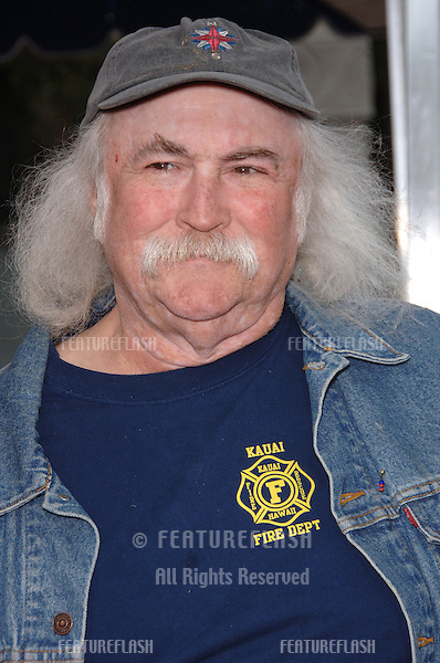 "Musician DAVID CROSBY at the Los Angeles premiere of ""RV""..April 23, 2006  Los Angeles, CA.© 2006 Paul Smith / Featureflash"