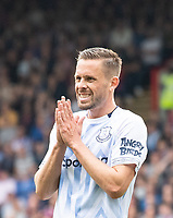 Everton Gylfi Sigurdsson during the Premier League match between Crystal Palace and Everton at Selhurst Park, London, England on 10 August 2019. Photo by Andrew Aleksiejczuk / PRiME Media Images.