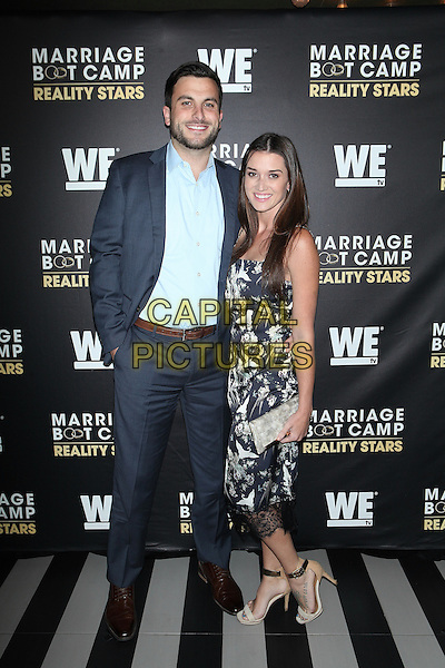 NEW YORK, NY - SEPTEMBER 22:   Tanner Tolbert, Jade Roper at  WE tv Celebrates The Season 6 Premiere Of Marriage Boot Camp Reality Stars At Up &amp; Down on September 22, 2016 in New York City.  <br /> CAP/MPI99<br /> &copy;MPI99/Capital Pictures