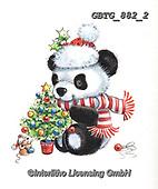 Theresa, CHRISTMAS ANIMALS, WEIHNACHTEN TIERE, NAVIDAD ANIMALES, paintings+++++,GBTG882/2,#xa# ,sticker,stickers ,panda,pandas