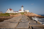 EASTERN POINT LIGHT on Dog Bar Breakwater, Gloucester, North Shore, MA