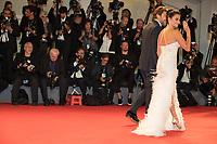 Javier Bardem, Penelope Cruz at the &quot;Loving Pablo&quot; premiere, 74th Venice Film Festival in Italy on 6 September 2017.<br /> <br /> Photo: Kristina Afanasyeva/Featureflash/SilverHub<br /> 0208 004 5359<br /> sales@silverhubmedia.com