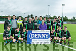 Fenit Samphires winners of the Jimmy Falvey Memorial Cup Final against Killarney Celtic at Mounthawk Park on Sunday