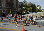Runners start the Elite Mile race during the 2nd Annual Reno Mile in downtown Reno on Saturday, Sept. 7, 2019. the 2nd Annual Reno Mile in downtown Reno on Saturday, Sept. 7, 2019.