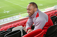 Tuesday 10th October 2017 | Ulster Rugby Media Conference<br /> <br /> Christian Lealiifano during an Ulster Rugby Media Conference held at Kingspan Stadium, Ravenhill Park, Belfast, Northern Ireland. Photo by John Dickson/DICKSONDIGITAL