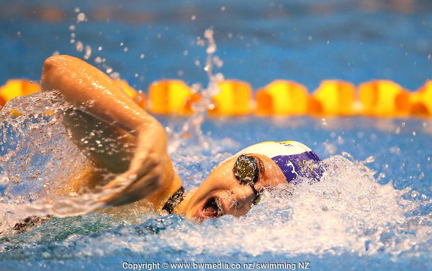 Amadika Atkinson.  Swimming New Zealand Aon National Age Group Championships, Wellington Regional Aquatic Centre, Wellington, New Zealand, Saturday 20 April 2019. Photo: Simon Watts/www.bwmedia.co.nz