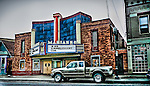 HDR photo of the Marianne Theater in Bellvue, KY. Been a destination since 1942. Art deco style