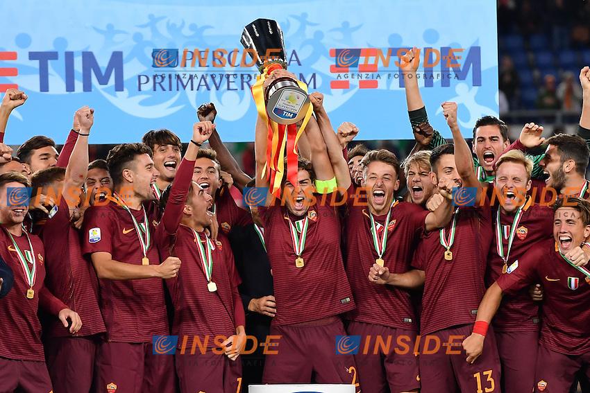 Roma 28-10-2016 Stadio Olimpico - Supercoppa Primavera . Young League Supercup / AS Roma - Inter / foto Antonello Sammarco/Image Sport/Insidefoto<br /> nella foto: Roma