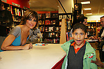 A fan and Lisa Rinna new book Rinnavation - Getting Your Best Life Ever debuts today, May 19. 2009 at Borders at Columbus Circle, New York City, New York. (Photo by Sue Coflin/Max Photos)