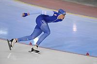 SPEEDSKATING: SALT LAKE CITY: 09-12-2017, Utah Olympic Oval, ISU World Cup, 1500m Men A-Division, Sindre Hendriksen (NOR), ©photo Martin de Jong