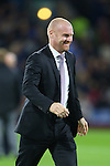 Sean Dyche manager of Burnley during the Premier League match at Turf Moor Stadium, Burnley. Picture date: September 26th, 2016. Pic Simon Bellis/Sportimage