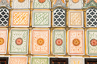 Detail of  the Colored Mosque, Tetovo, Macedonia, Western Balkans, Europe the Colored Mosque, Tetovo, Macedonia, Western Balkans, Europe
