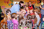 Local vet, Catherine O'Leary, paid a visit to Kilcummin this week to talk with the children.