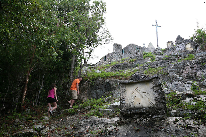 Father Jerome's Hermitage on Cat Island, Bahamas