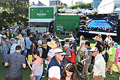 9th January 2018, ASB Tennis Centre, Auckland, New Zealand; ASB Classic, ATP Mens Tennis;  Fans during the ASB Classic ATP Men's Tournament Day 2