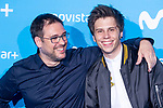 Rubius attends to blue carpet of presentation of new schedule of Movistar+ at Queen Sofia Museum in Madrid, Spain. September 12, 2018. (ALTERPHOTOS/Borja B.Hojas)