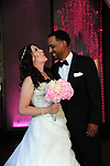 Alex Jose Santiago wedding to Jessica Wood. Michigan, June 29, 2019. all rights released to wedding party and family. Kingdom Life Church in Romulus, MI