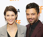 Gemma Arterton and Dominic Cooper attend 'The Escape' premiere during the 2017 Toronto International Film Festival at TIFF Bell Lightbox on September 12, 2017 in Toronto, Canada.