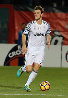 Marko Pjaca  during the  italian serie a soccer match,between Crotone and Juventus      at  the Scida   stadium in Crotone  Italy , February 08, 2017