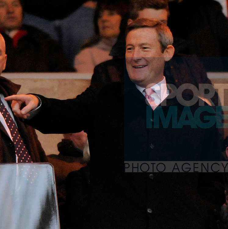 Texan billionaire and owner of Sunderland AFC Ellis Short during the Premier League football match between Sunderland AFC and Wigan Athletic on 26 November 2011, at Stadium of Light, Sunderland, England.