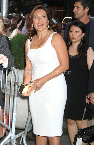 Mariska Hargitay at the Cinema Society and Hollywood Reporter screening of Sony Pictures Classics To Rome with Love at the Paris Theatre in New York City. June 20, 2012. © RW/MediaPunch Inc.