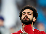 Liverpool's Mohamed Salah looks on during the Champions League Quarter Final 2nd Leg match at the Etihad Stadium, Manchester. Picture date: 10th April 2018. Picture credit should read: David Klein/Sportimage