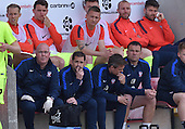 07/05/2016 Sky Bet League Two Morecambe v York City<br /> Jackie McNamara