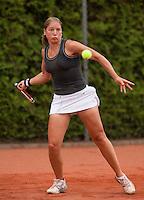 13-8-09, Den Bosch,Nationale Tennis Kampioenschappen, Kwartfinale,   Leonie Mekel