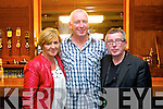Ann Condon Kevin Williams and Eamon Cambell at the opening of the Christy Hennessy weekend, held in the Carlton Hotel, Tralee on Friday evening.