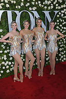 www.acepixs.com<br /> June 11, 2017  New York City<br /> <br /> The Rockettes attending the 71st Annual Tony Awards arrivals on June 11, 2017 in New York City.<br /> <br /> Credit: Kristin Callahan/ACE Pictures<br /> <br /> <br /> Tel: 646 769 0430<br /> Email: info@acepixs.com