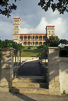 parliament, Bermuda, Hamilton, Sessions House the historic Parliament Building in the town of Hamilton in Bermuda.