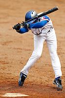 21 June 2011: Felix Brown of Team France is seen during UCLA Alumni 5-3 win over France, at the 2011 Prague Baseball Week, in Prague, Czech Republic.