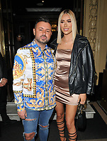 guest and Demi Sims at the DIVA Magazine Awards 2019, The Waldorf Hilton Hotel, Aldwych, London, England, UK, on Friday 07th June 2019.<br /> CAP/CAN<br /> ©CAN/Capital Pictures