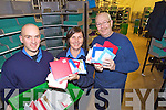 Postal staff with some of the Letters to Santa at the Tralee sorting Office on Friday, from Left: Lenord Foley, Mary Hurley and Eddie O'Rielly.