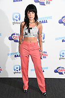 Halsey<br /> poses on the media line before performing at the Summertime Ball 2019 at Wembley Arena, London<br /> <br /> ©Ash Knotek  D3506  08/06/2019